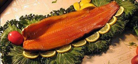 Домашняя рыба холодного копчения